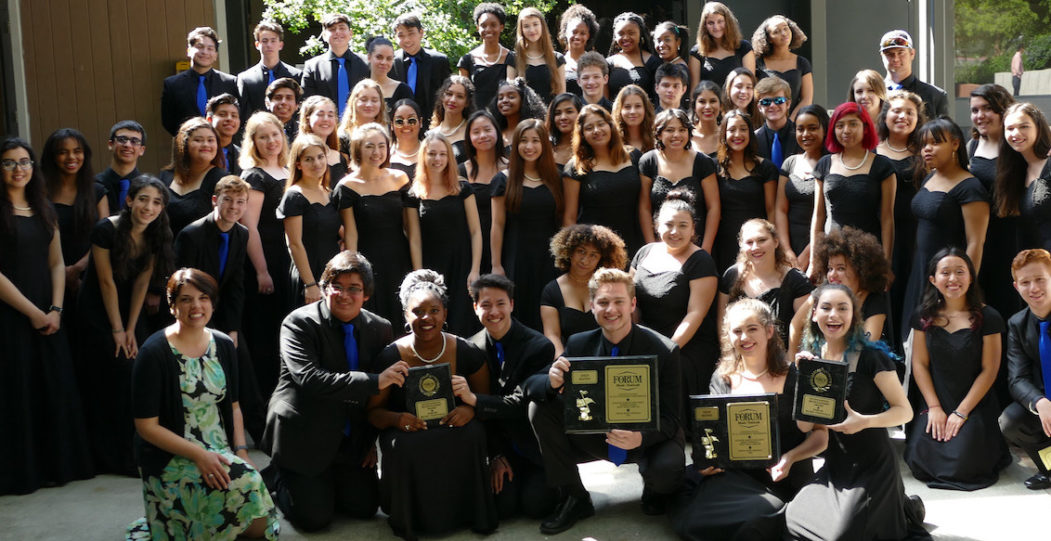AMPA Choirs Placed Gold at Forum Music Festival in San Francisco