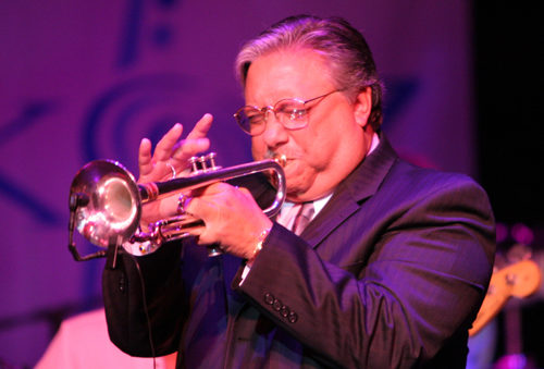 Jazz Ensemble A for Arturo Sandoval