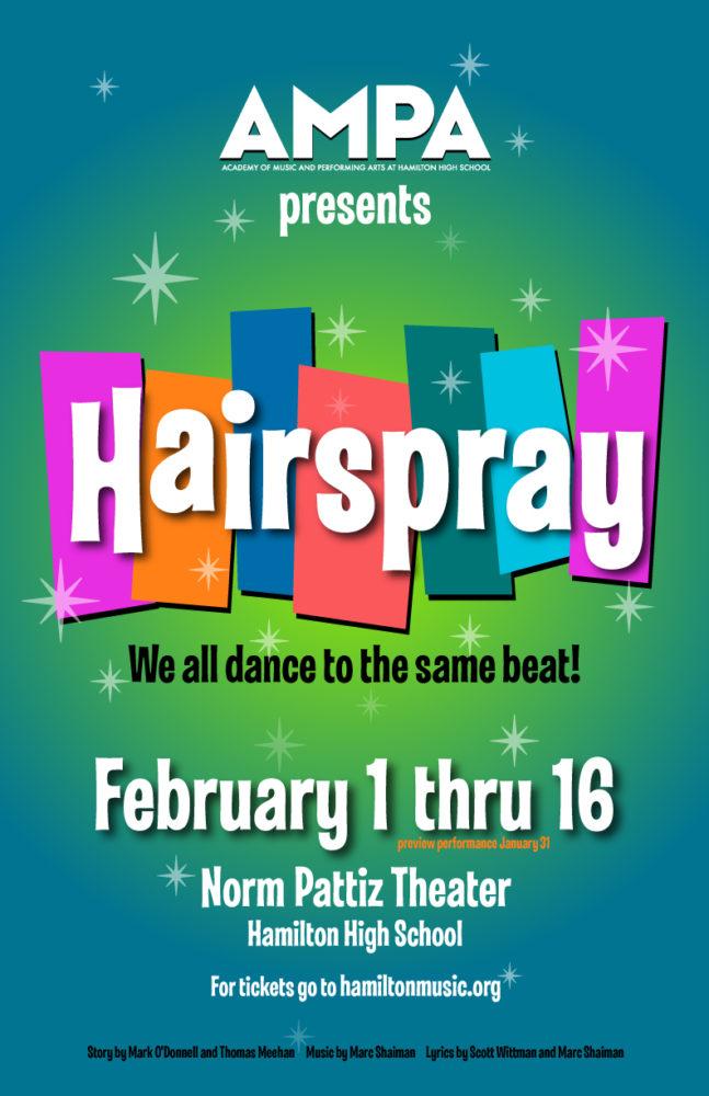 AMPA Hairspray Musical Winter 2019