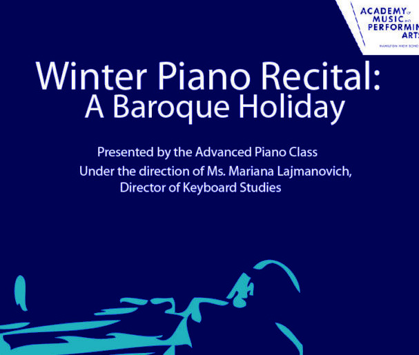 Winter Piano Recital 2018