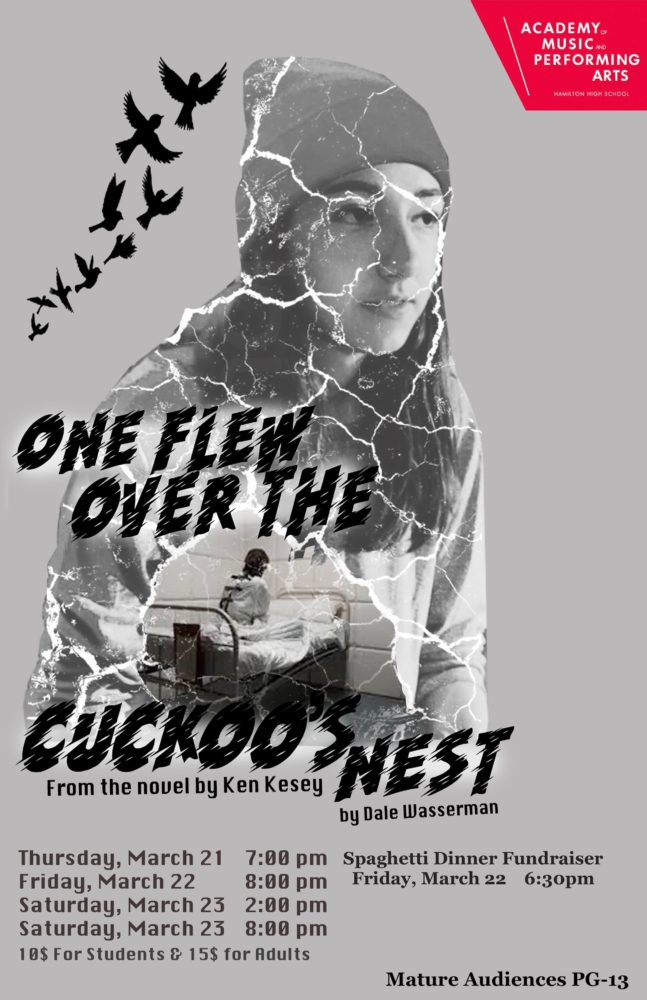 One Flew Over Cuckoo Nest Poster AMPA